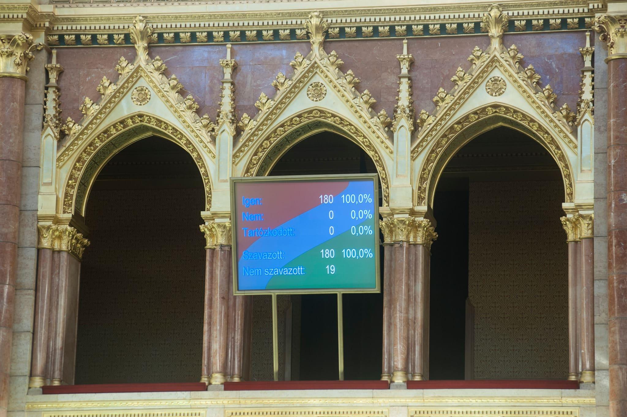 A Parlament ellenszavazat nélkül fogadta el a tartásdíjtörvényt